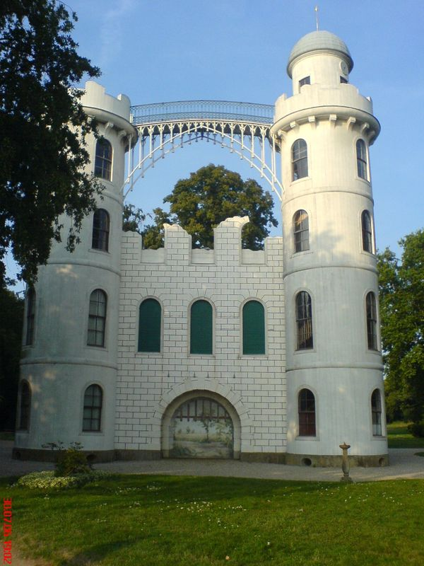Schloss Pfaueninsel / Bokensdorfer Kartonmodelle Besuch10