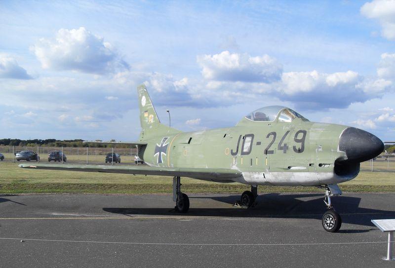 Luftwaffenmuseum Berlin Gatow F_86k_12