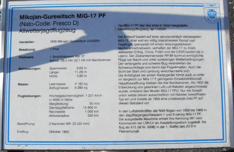 Luftwaffenmuseum Berlin Gatow Mikoja13