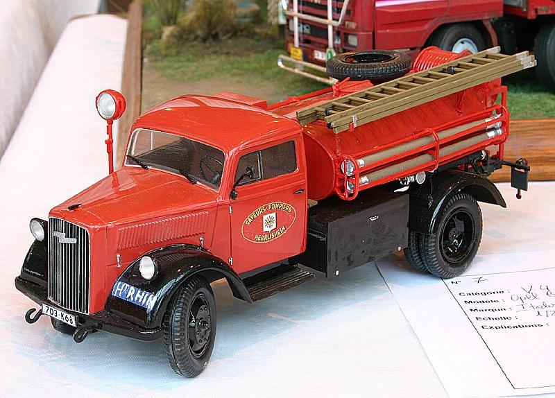 "Opel Blitz Firetruck 1:24 ""Fertig"" Phcivi10"