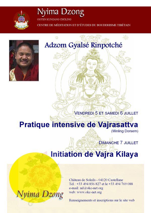 Adzom Rinpoché à Nyima Dzong 2013 Agr_2010