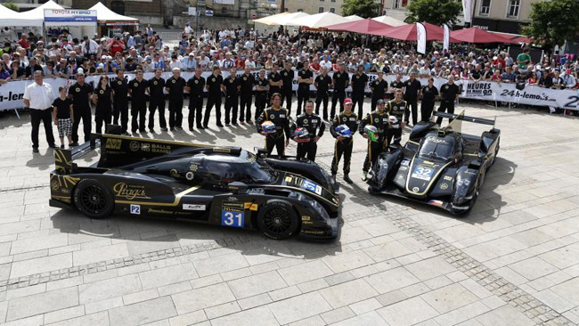 24 ore di Le Mans 2013: 2 Lotus ufficiali al via  Team_l10