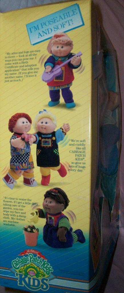 (CPK) les poseable kids de HASBRO 03510