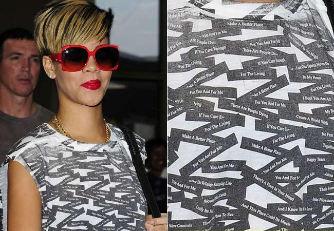 Tributo modaiolo a Michael Jackson per Rihanna Tribut10