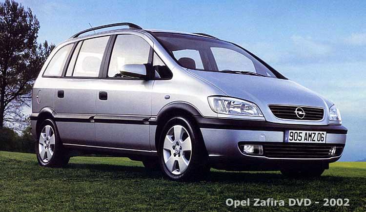Zaf'59 2.2 dti élégance Zafira10