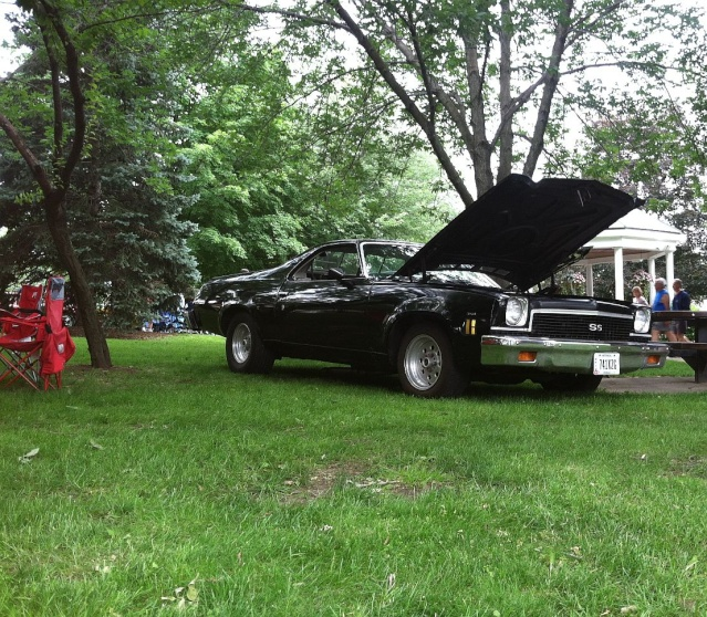 went to a car show yesterday 73elk10