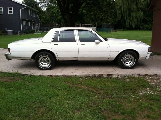brought the Caprice home. Capc311
