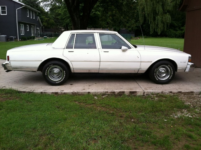 brought the Caprice home. Capr410