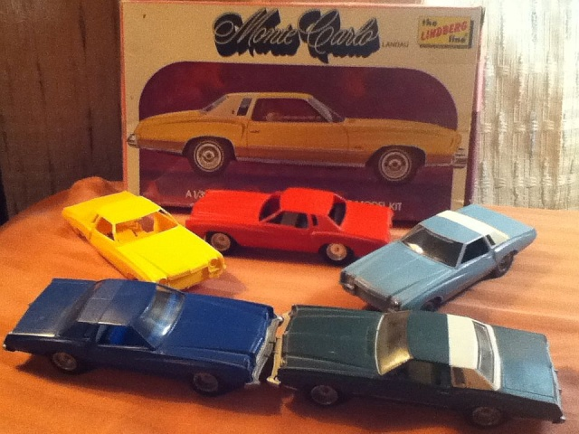 73 Chevelle model car.  Lind10
