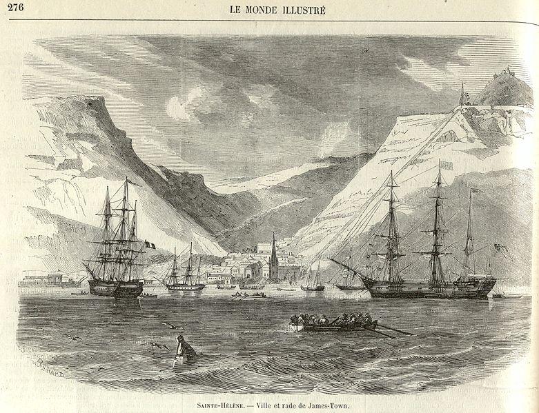 L'île de Sainte-Hélène décrite par Fulgence Girard 781px-10