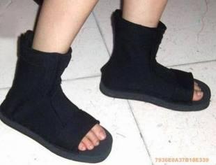 WTB Naruto Sandals Black T1rgpb10
