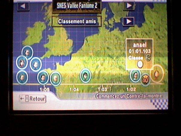 [Mario Kart Wii] Chrono Sur SNES Vallée fantome 2 Classe10
