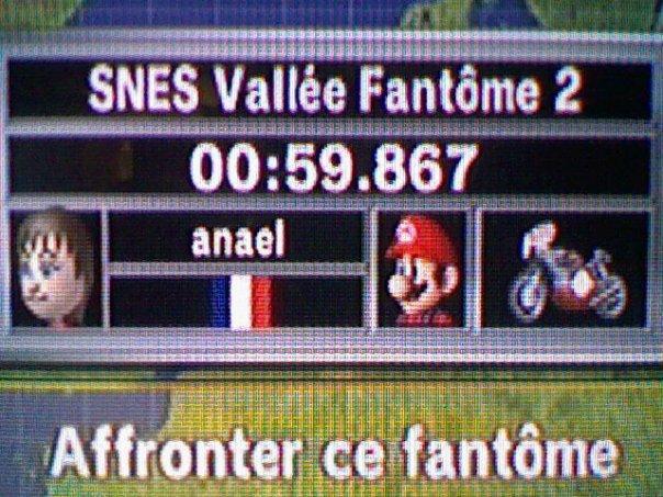 [Mario Kart Wii] Chrono Sur SNES Vallée fantome 2 Classe13
