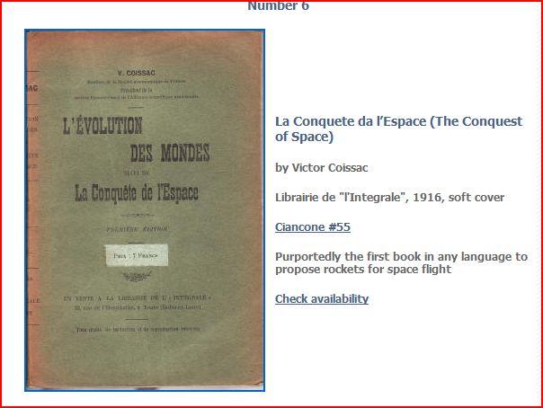 Littérature Spatiale des origines à 1957 Coissa11