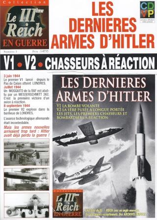 Les dernières armes d'Hitler. V1, V2, chasseurs à réaction. en DVD Dernia10