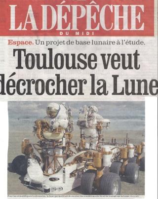 Toulouse futur site de l'institut mondial lunaire : un projet de l'3AF. Numari10