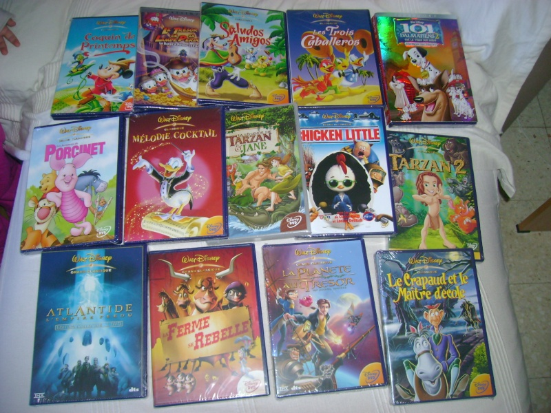 Vos achats DVD et BrD Disney - Page 6 Dsc06010