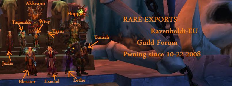 Rare Exports Guild Forum