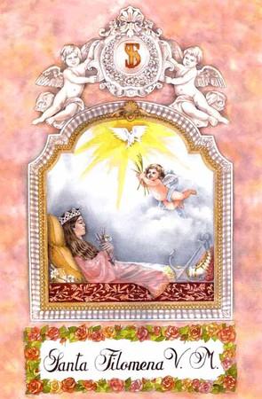 """Sainte Philomène, la """"petite sainte"""" du saint Curé d'Ars 19549915"""