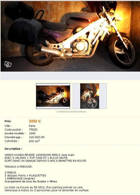 à vendre revere envers et contre tout [vendue] Ntv35010