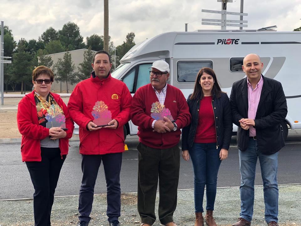 Aniversario área de autocaravanas en Huercal-Overa (Almeria) Huerca14