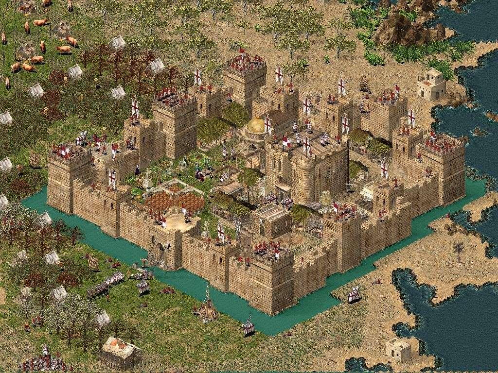 Castelul Regelui: Stronghold Crusader Concur10