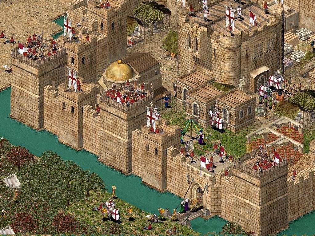 Castelul Regelui: Stronghold Crusader Concur11