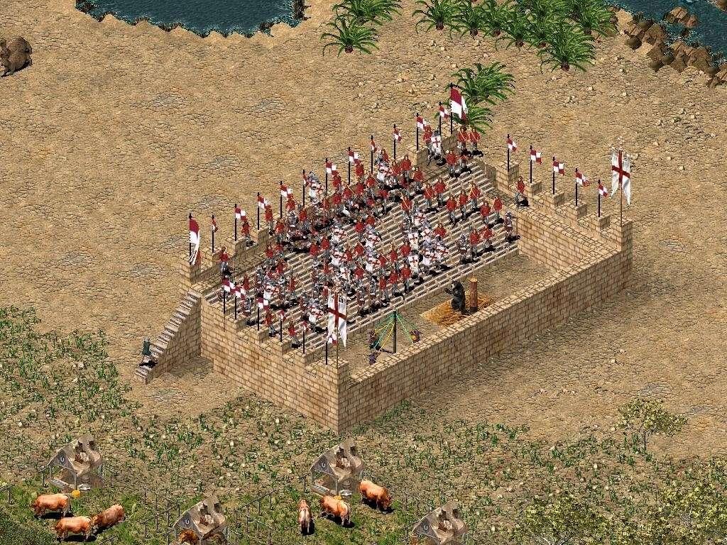 Castelul Regelui: Stronghold Crusader Concur12