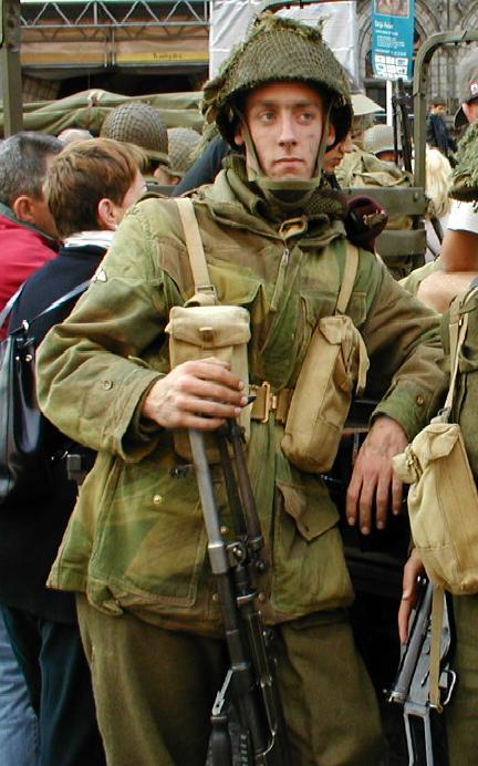 Kit list infanterie Britanique Aurel10