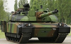 Le char lourd Français AMX 56 (56 tonnes)<<LECLERC>>(Source du Ministère des Armées) Mf485112