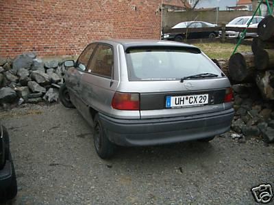 Mal dad Auto schwarz machen Astra_12