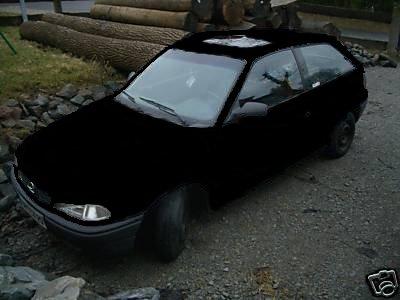 Mal dad Auto schwarz machen Astra_13
