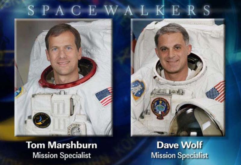 [STS-127: Endeavour] EVA 2 (Wolf & Mashburn) 20-07-12