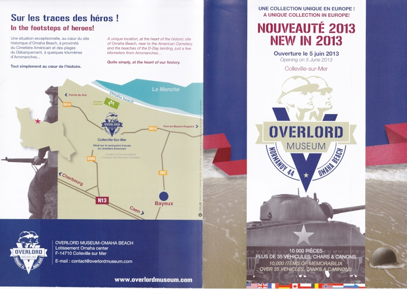 Musée WW2 - Overlord Museum - Colleville-sur-Mer ( Normandie ) Img11