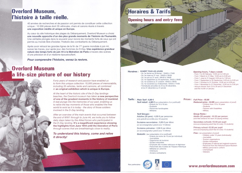 Musée WW2 - Overlord Museum - Colleville-sur-Mer ( Normandie ) Img_0010