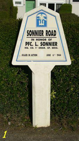 Monument WW2 - Utah Beach - Monument Engineer.  P1090621