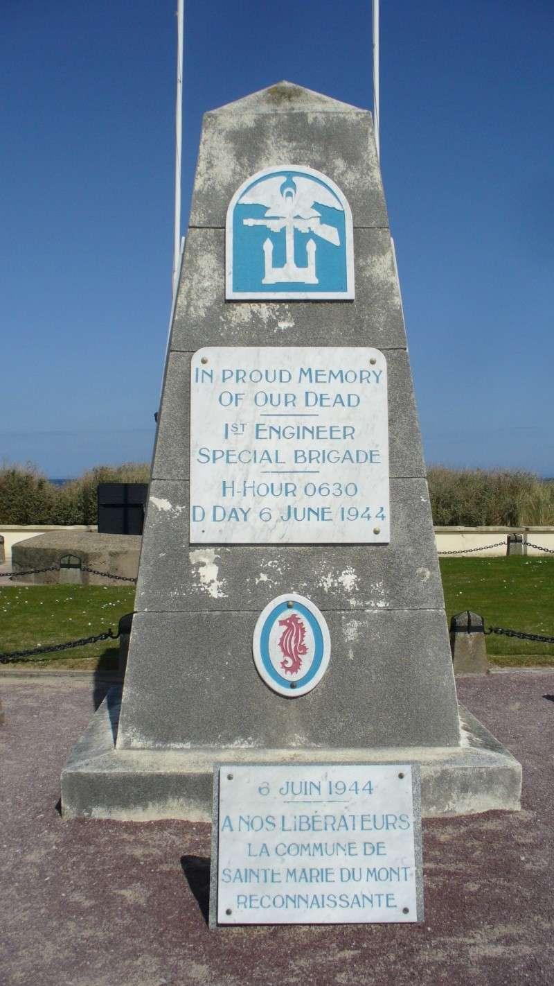 Monument WW2 - Utah Beach - Monument Engineer.  P1090810