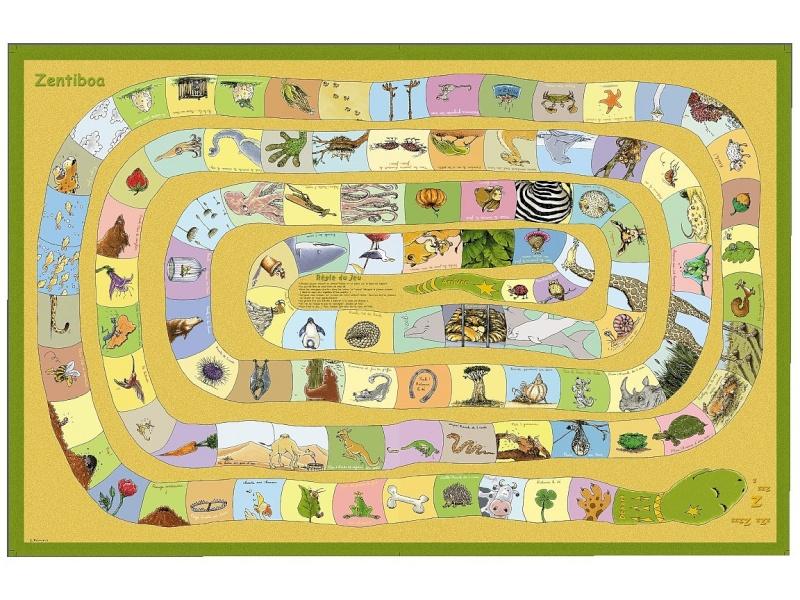Le jeu de l'Oie et l'ésotérisme pour les enfants Zentib10