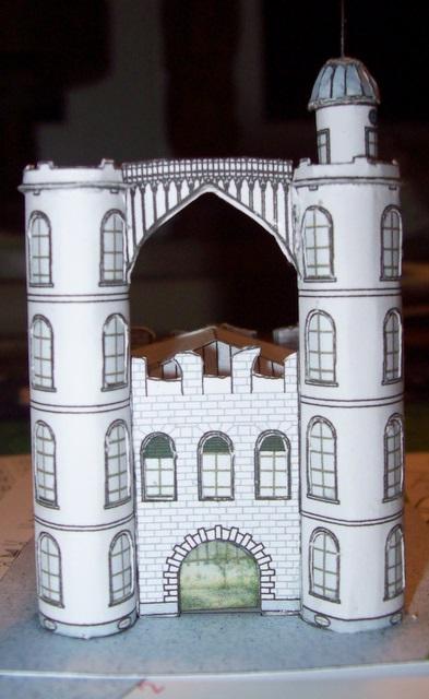 Schloss Pfaueninsel / Bokensdorfer Kartonmodelle 105_2111