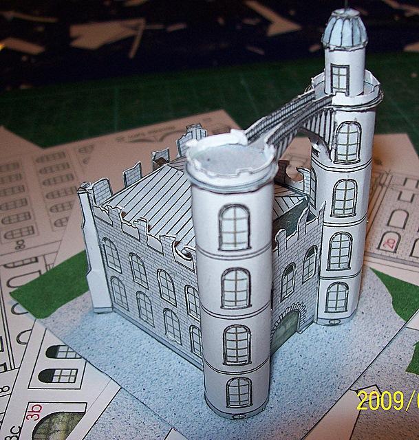 Schloss Pfaueninsel / Bokensdorfer Kartonmodelle 105_2113