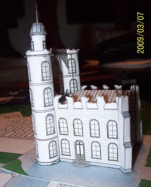 Schloss Pfaueninsel / Bokensdorfer Kartonmodelle 105_2115