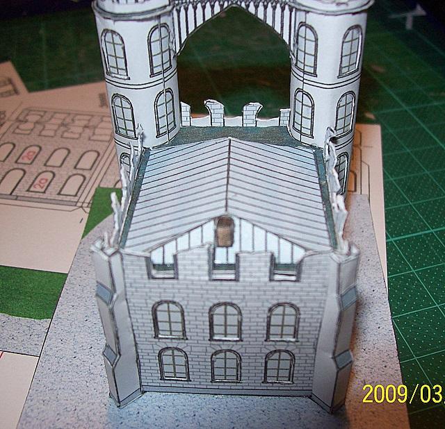 Schloss Pfaueninsel / Bokensdorfer Kartonmodelle 105_2116