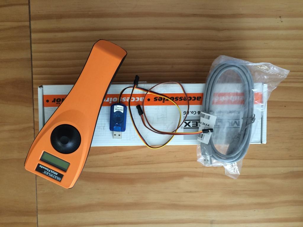(Vendu) Multimate et  cordon PC, USB pour Rx Multiplex Img_0312