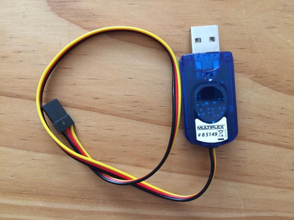 (Vendu) Multimate et  cordon PC, USB pour Rx Multiplex Img_0313