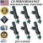 Bosch Fuel Injectors Set (6) pour 07-11 Chrysler Dodge Jeep 3.8 3.3 V6 S-l14010