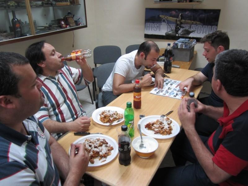 Club Meeting on Thursday 2nd May - Baked Maccaroni Night Img_0626