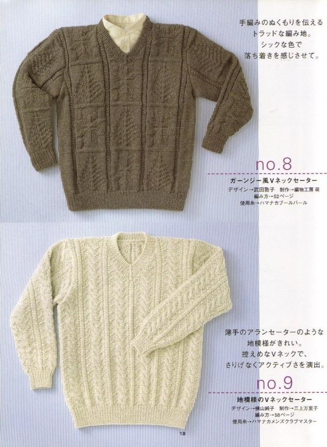 Áo len, găng tay, mũ cho nam 1811