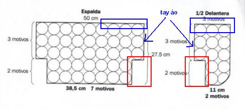 Cách móc mẫu áo Bolero M005 Bolero10