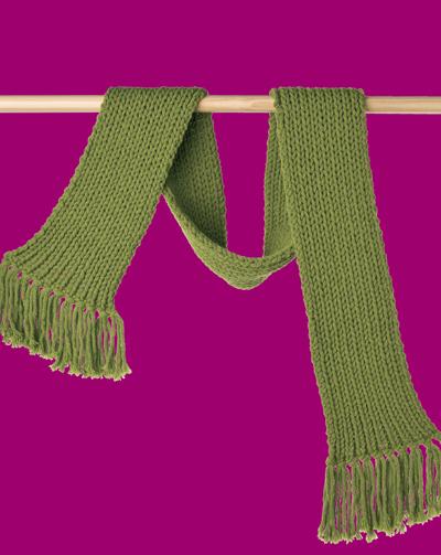 Mẫu khăn đan bằng len sợi to????? Lento310