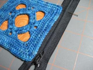 Cách may dây kéo vào ví (giỏ, túi) móc Measur10